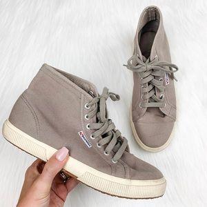 Superga 2095 Cotu Sneakers Canvas Hi Top Size 8.5